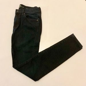 7 FOR ALL MANKIND Gwenevere Black Skinny Jeans 27